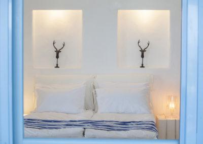 Villa Elafina | Schlafzimmer Erdgeschoss