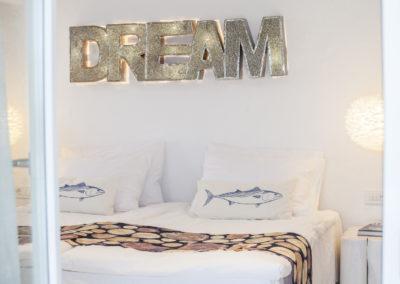 Villa Elafina | Schlafzimmer Gästehaus für traumhaften Schlaf