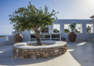 Villa Elafina | Terrasse Patio mit Barbecue-Grill