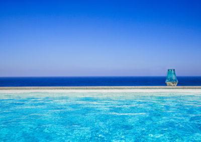 Villa Elafina | Infinity-Pool mit Meer-Meer-Meer