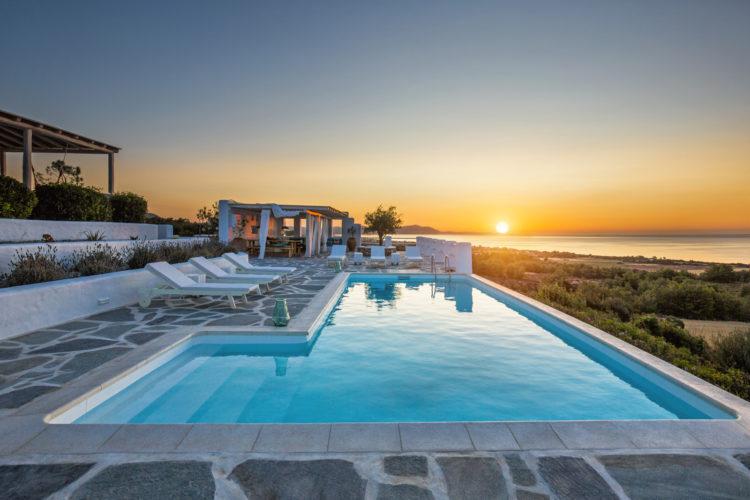 Luxus Ferien In Der Villa Elafina Mit Infinity Pool Und Jacuzzi